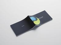 Multiple brochures designed for print (Thy-Mors Energi) layout design brochure design design graphic design