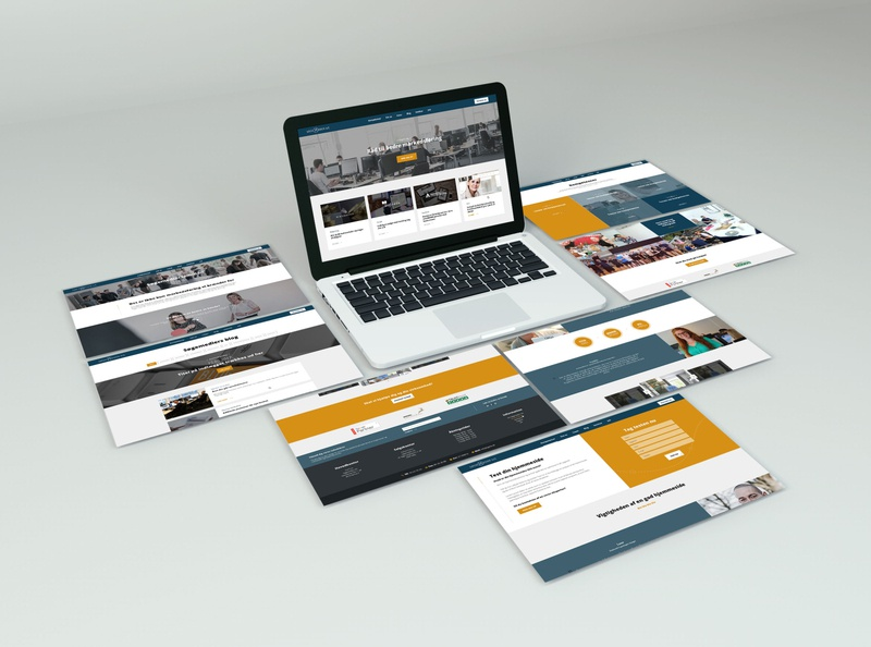 CVI for Søgemedier print design digital design branding ux website webdesign graphic design visual identity