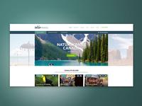 InterTravel - website logo ui website design graphic design branding webdesign web ux