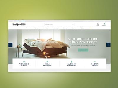 Sengekompagniet - webshop