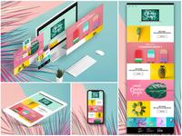 Creation Jungle : Website