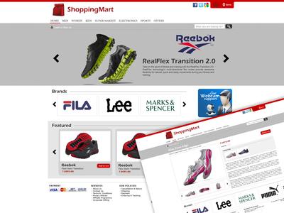 Shopping Mart Website