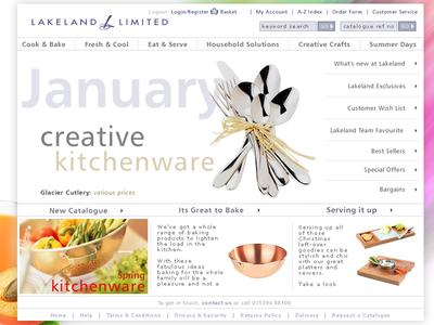 Lakeland Limited Website