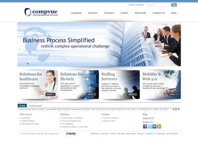 Compvue Website