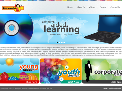 Extramarks Website
