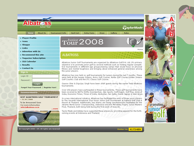 Albatross Website