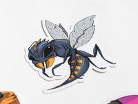 Bugcrowd - P1 Warriors Bug Sticker