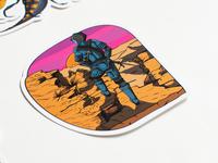 Bugcrowd - P1 Warriors View Sticker