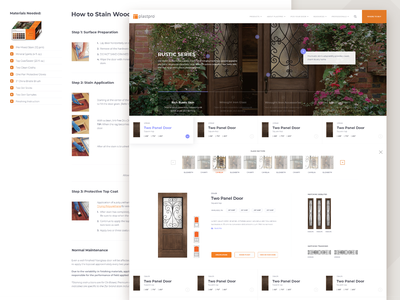 Plastpro Company Website redesign website design webapp vizualization setting landing constructor website modern minimal corporate web clean ux ui interface design