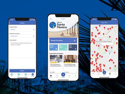 Citizen Engagement App Animation - NewRocket branding ux animation servicenow ui design
