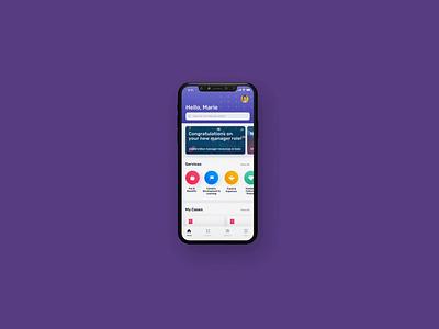 Custom Native Mobile Apps on ServiceNow app newrocket animation design ui ux mobile apps native service portal servicenow