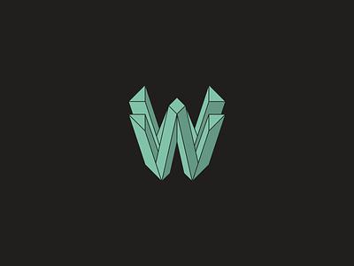Weero edm logo design logo 3d 3d logo