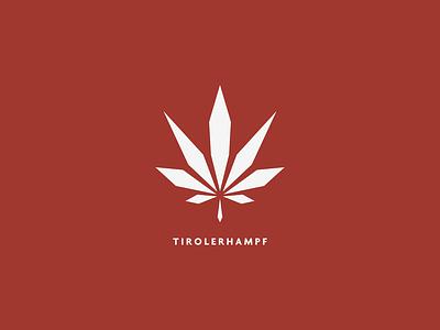 Tyrolerhampf cannabis logo design logo
