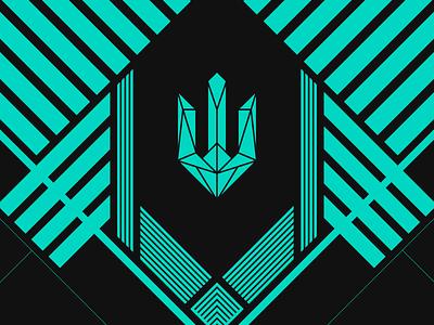 Tridium azure logo design electronic logo