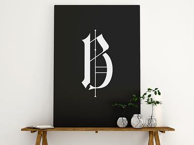 Brenno Pellegrini Mockup two bletter logodesign logo