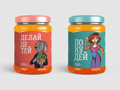 Honey package food illustration fmcg character honey branding package design