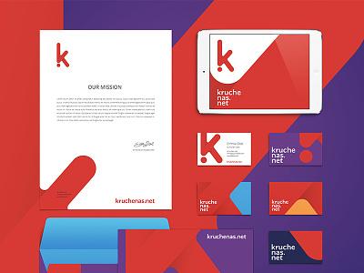 Creative agency id creative brand logotype branding id design