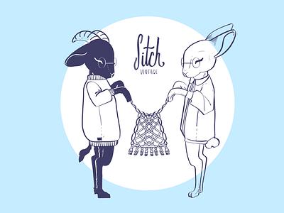 Sitch Ladies logo minimal procreate branding vector illustrator graphic design design illustration