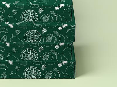 Tree Ripe Fruit Co Packaging packaging vector illustrator graphic design design illustration