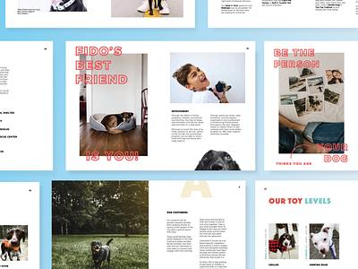 Waggins Brand Guide indesign vector illustrator graphic design design illustration
