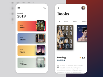 Best of 2019 dailyui