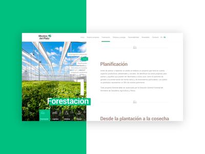 Montes del Plata Website