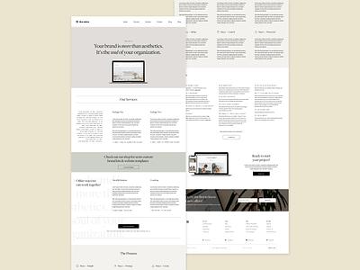 Dua Naturo Services Page Design clean ui interface simple design minimalism ux design ui design digital agency creative studio graphic design brand design uidesign branding web design ux ui product design uiux adobexd