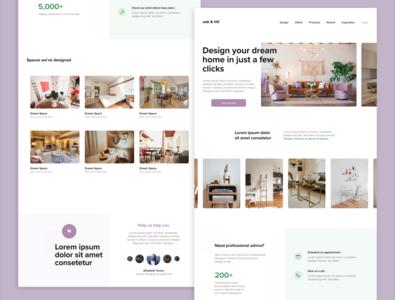 Oak & Hill Landing Page — Daily UI