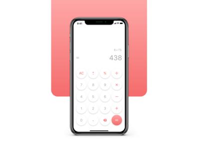 Calculator — Daily UI