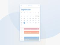 Daily UI #38 Calendar