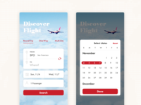 Daily UI #68 Flight Search