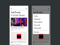 Daily UI #70 Event Listing