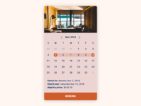 Daily UI #67 Hotel Booking