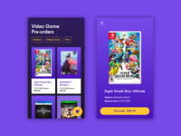 Daily UI #75 Pre-order
