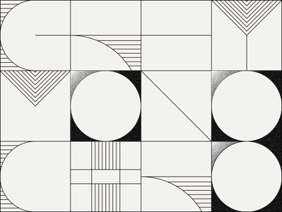 Daily Pattern #022 Grey/Monochrome typography geometric graphic art graphic design daily challenge daily pattern
