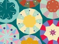 Daily Pattern #025 Kaleidoscope