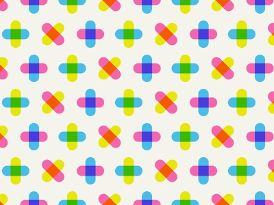 Daily Pattern #026 Spring geometic graphic art graphic design daily challenge daily pattern