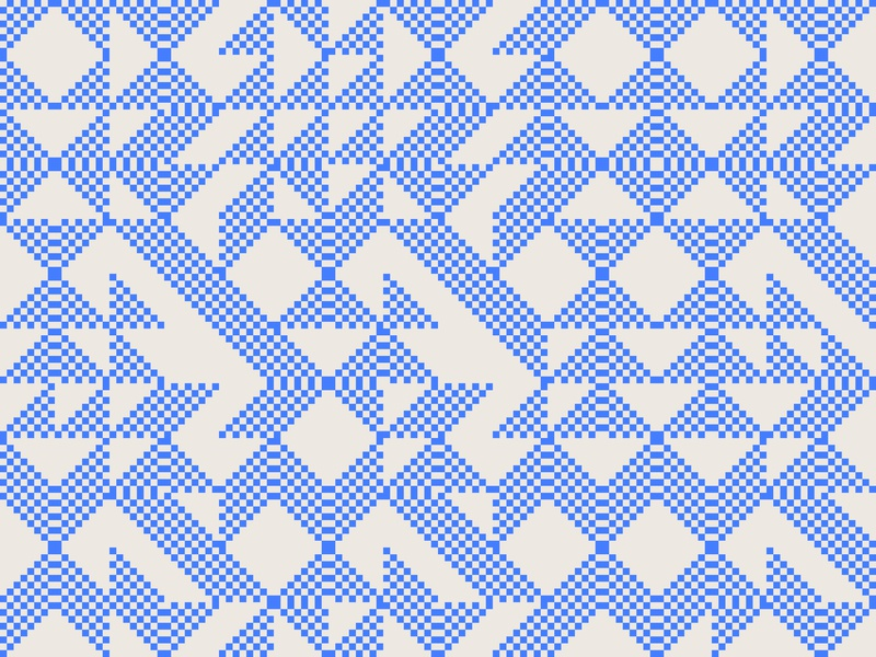 Daily Pattern #042 graphic design daily pattern daily challenge