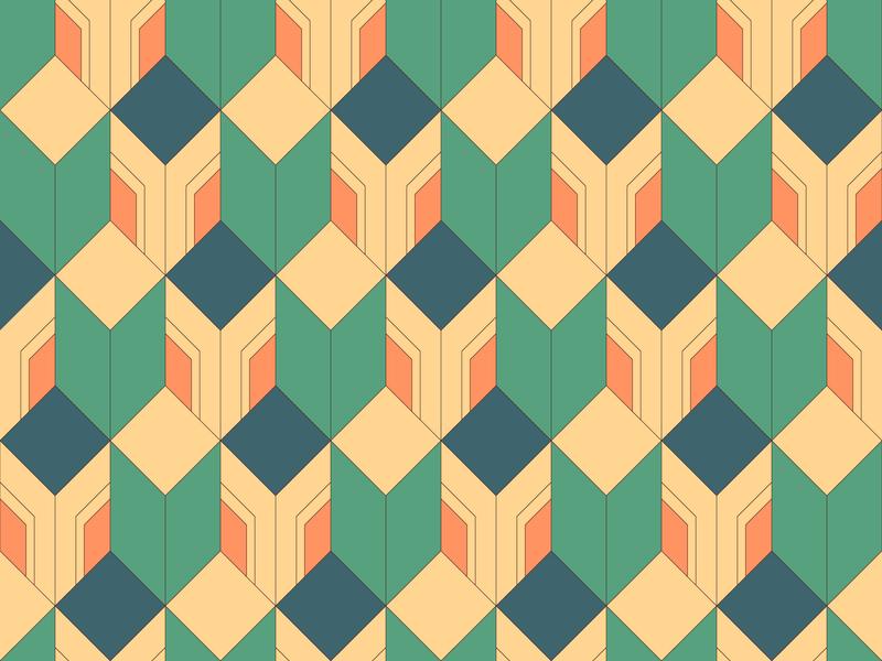 Daily Pattern #054 graphic pattern daily pattern daily challange