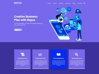 BEPZA - Creative MultiPurpose PSD Template