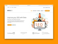 Bepza Seo   Creative One Page Psd Template