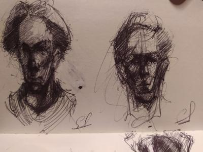 face drawing art
