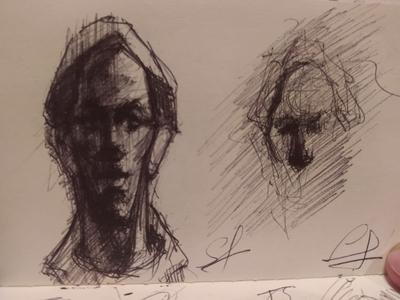 face art drawing
