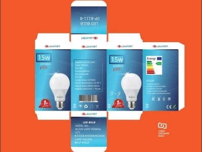 packaging design led bulb version 1