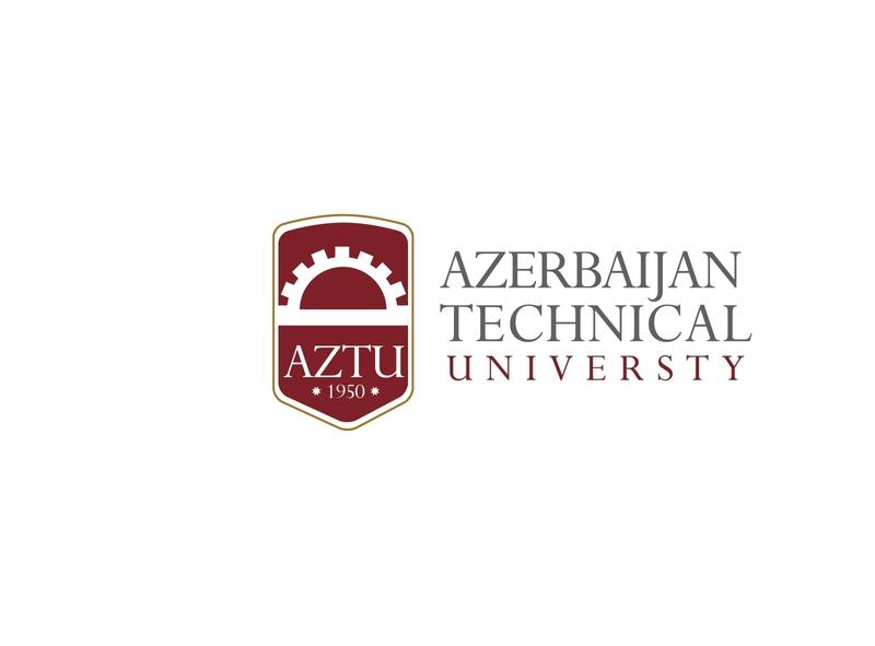 AZTU Umiversty logo concept red version