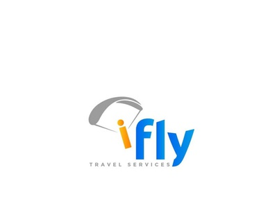 fly travel creative logo ifly travel services