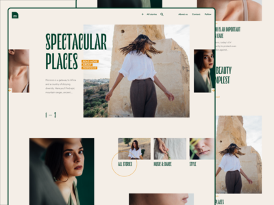 Online Magazine Homepage