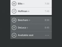 Schedule (UX)
