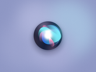Siri fun gradient swirls figma apple siri ios app icon