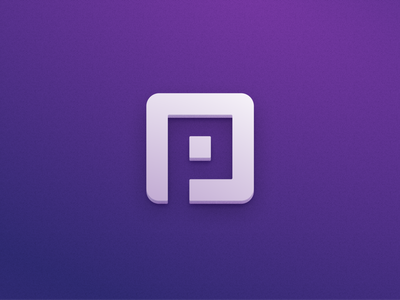 App Icon ui layout design branding figma vector identity ios macos puzzle purple 3d appicon icon app